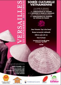 Soirée culturelle vietnamienne Versailles