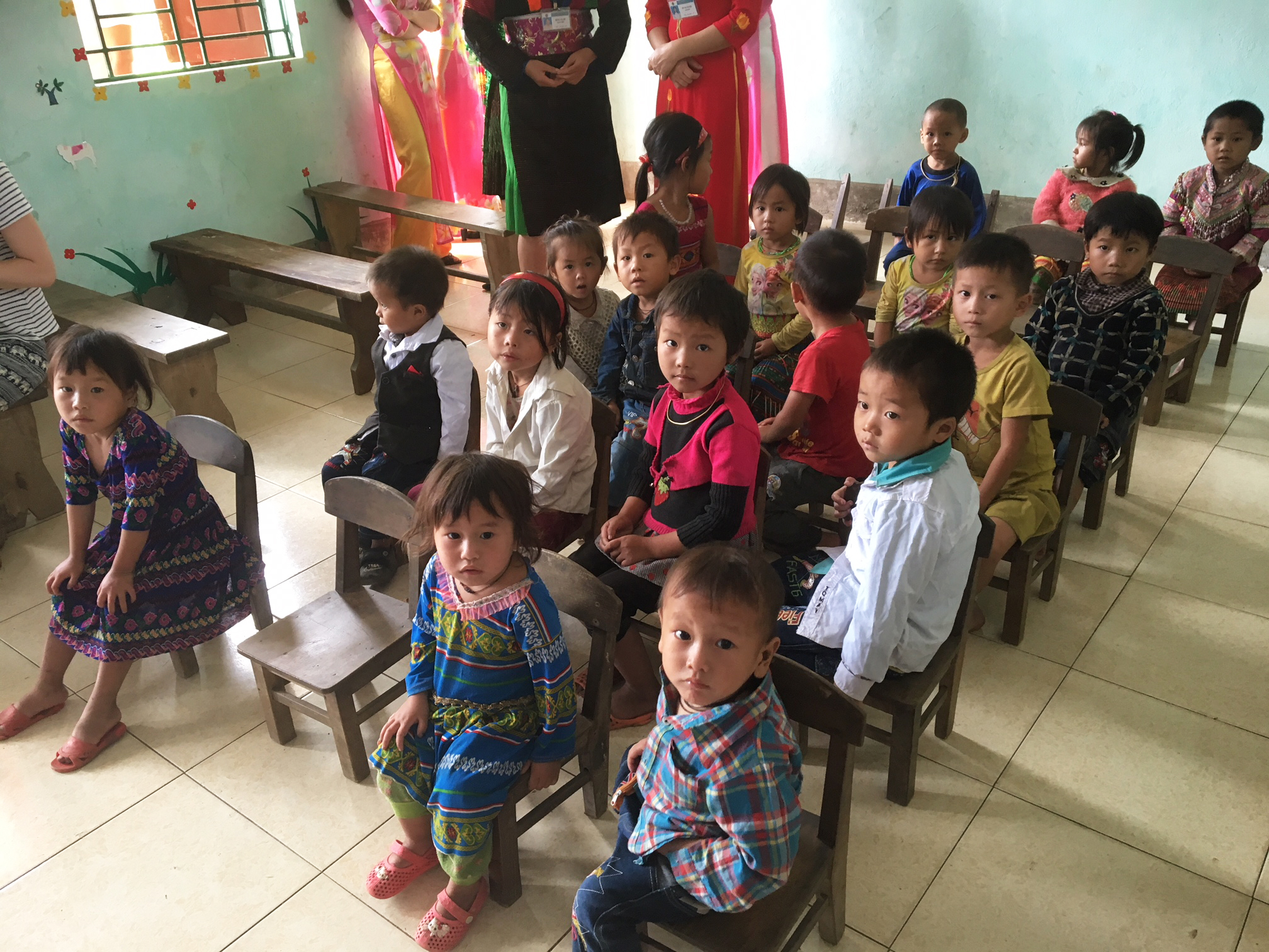 inauguration de l 233 cole maternelle 224 pan ho enfance partenariat epvn association