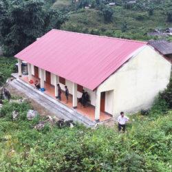 Inauguration de l'école maternelle à Pan Ho